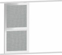 Posuvné síťové dveře