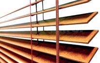 Dřevěné žaluzie, lamela 25 mm