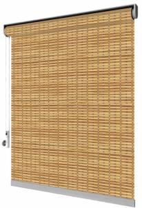 Řetízkové rolety Luxury, dřevěná tkanina