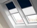 Rolety pro střešní okna, kombinované